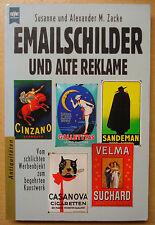 Emailschilder und alte Reklame Werbung Battenberg Email Sammeln Buch Book Zacke