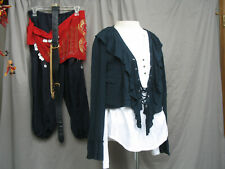 Pirate Womens Gypsy Renaissance Costume Wench Colonial Tavern Girl