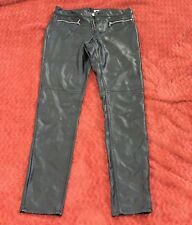 H&M Leather Like Pants Size 6