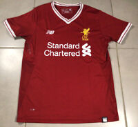 Men's 2017 New Balance Liverpool FC 125 Years Sz S red Soccer Jersey football