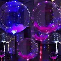 "18"" Luminous Led Balloon Party Birthday Wedding Christmas Outdoor DIY Decor W0C1"
