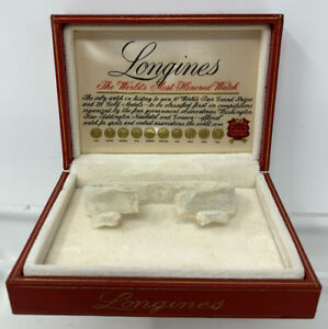 Vintage Longines Women's Watch Presentation Box Only