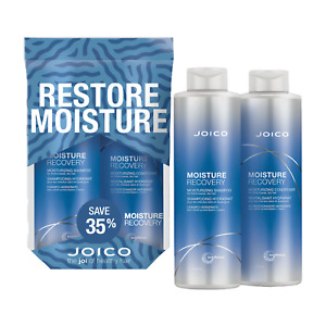 JOICO DUO MOISTURE RECOVERY SHAMPOO,CONDITIONER LITER