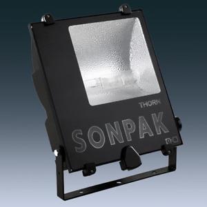 Thorn SONPAK LX 150W 240V HIT/E40/745 A/S Floodlight OTXMH 150 Black Flood Light