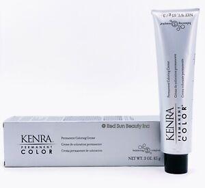 KENRA COLOR Permanent Coloring Creme 3oz / 85g (CHOOSE YOURS)