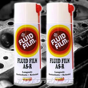 HODT Fluid Film 2x 400ml Spraydose Langzeit Rostschutz Kriechöl Korrosionsschutz