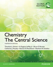 Chemistry The Central Science 13E Brown Bursten LeMay 13th Edition