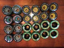 24 Speed Skate Wheels Used Sure Grip Zoom Blast Sonic GTS Turbo Plus Quad