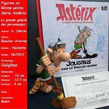 Figurine 3D, Résine, Astérix Joligibus Uderzo Goscinny + Livret + Certificat