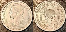 Djibouti - territoire des afars et issas - 1 franc 1975 SUP ! LEC#52