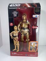 "STAR WARS Force Awakens C-3PO Interactive ROBOTIC Droid 16""  NIB TRU Exclusive"