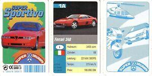 Quartett Super Sportivo v. FX Nr. 50061.3 v. 1992