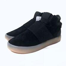 watch 89abe a772a Adidas Originals Tubular Invader Strap Black Youth SZ 5 NEW