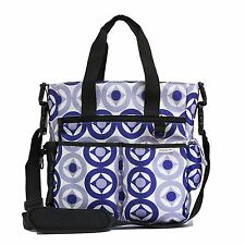 NEW Unique and Lovely brand Multifunctional Diaper Messenger Bag Circus Blue