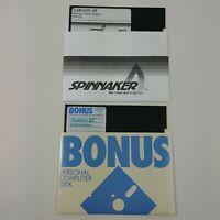 "Sargon III 3 + Unknown Copy - 5.25 Floppy Disks 5 1/4"" Vintage Computer Game"