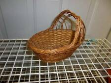 Small Wicker Doll Basket