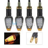 4 pcs Motorcycle dirt bike Dual Sport supermoto Turn Signal LED light blinker