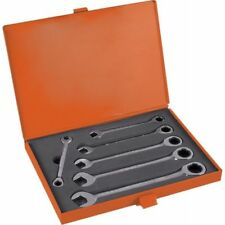 Chiavi Combinate a Cricchetto Fisse 6 Pz Attrezzi da 8 a 19 mm in Valigetta