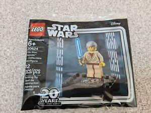 SEALED NEW Lego Star Wars Obi Wan Kenobi 20th Anniversary 30624 Polybag
