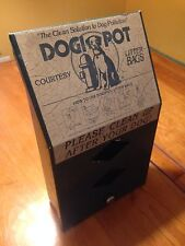 Dogi Pot- Dog Waste Containment Box- Used