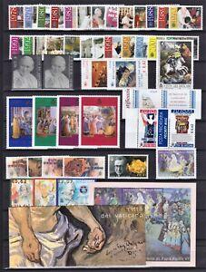 Vaticano 2003 Annata completa 46 valori, 4 foglietti, 1 libretto nuovi + 1 FDC