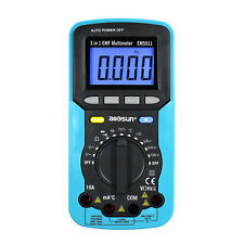 3 In 1 Digital Multimeter EMF Field Radiation Tester Volt Amp Detector DC AC