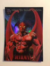 "Devilman "" The Diabolic Revelation"" Trading Card Prism H-04"