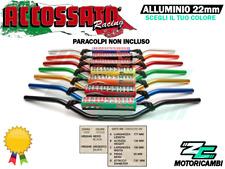 MANUBRIO UNIVERSALE ALLUMINIO 22mm + TRAVERSINO SENZA PARACOLPI ACCOSSATO