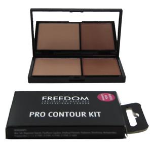 Freedom Bronzer Highlighter Makeup Revolution Pro Contour Kit Medium 02