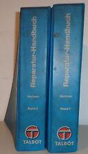 Manual de Taller Talbot Horizon Von 05/1980 (2bände)