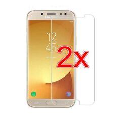 2 STÜCK_Samsung Galaxy J7-2017 - Schutzglas Display-Schutzfolie Panzer Glasfolie