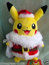 JAPAN Pokemon Center LTD Pokémon XY 2014 Christmas Santa Claus ver PIKACHU Plush