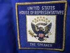 UNITED STATES SPEAKER OF THE HOUSE USA REPRESENTATIVES PEYSER WINDBREAKER LARGE