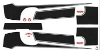 1970 CAMARO 454 Special Stripes 1/25th - 1/24th Scale Waterslide Decals