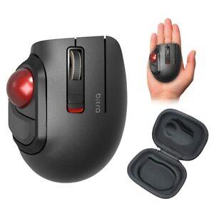 ELECOM Bluetooth Trackball Mouse M-MT1BRSBK S Size 5-Button New