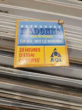 madonna    cdrom promo 3 inches france aol