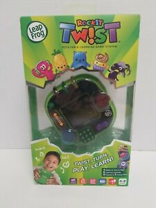 LeapFrog RockIt Twist Handheld Learning Game System Green Free Shipping