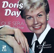 DORIS DAY : QUE SERA - DIE GROSSEN ERFOLGE / 2 CD-SET - TOP-ZUSTAND