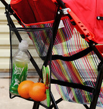 Pram Pushchair Buggy Cup Bottle Drink Food Holder Storage Bag Organiser