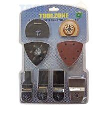 Toolzone 27 piezas MULTIHERRAMIENTA Escobilla Juego de accesorios adjuntos