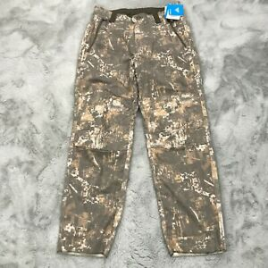 New Columbia PHG Gallatin Lite Wool Blend Pants Timberwolf Digital Camo Small