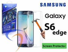 Samsung galaxy S6 EDGE screen protector, Tempered glass 3D curved full covered