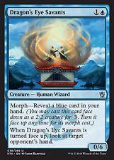 *MRM* FR 4x Savants de l'oeil du dragon ( Dragon's Eye )) MTG Khans