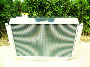 Radiator for Holden Kingswood HQ HJ HX HZ Chevy Engine Manual 3Rows Aluminum New