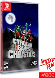 Cthulhu Saves Christmas Limited Run #88 Nintendo Switch ~ NEW SEALED ~ NTSC