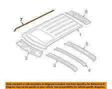 LAND ROVER OEM 03-12 Range Rover Roof-Weatherstrip Seal Right DBC000022LML