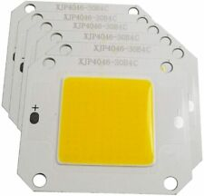 10pcs 50w Cob Led Chip Warm White 3000k High Power Led Light 12v 14v