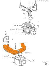 Air Cleaner Duct GEO Prizm 1993 - 1997 GM OEM New 94853530 M3