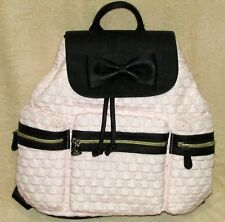 37338b6fad SPECIAL PINK BETSEY JOHNSON BACKPACK TRAVEL SHOULDER TOTE BAG (Free GIFT)
