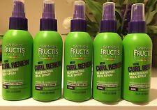 5 Garnier Fructis Style New Curl Renew Reactivating Milk Spray 5.0 oz